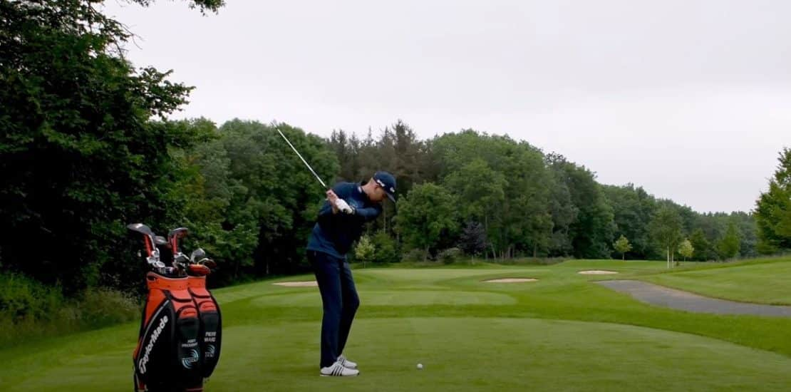 what is a good score for beginner golfer