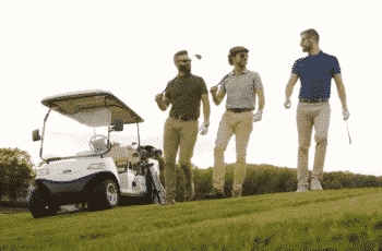 why do rich people play golf